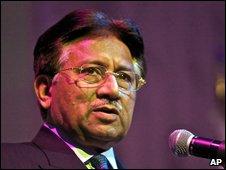 Pervez Musharraf, file pic