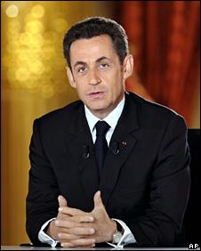 Nicolas Sarkozy (6 February 2009)