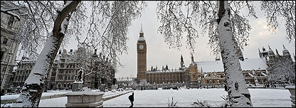 Snowy Westminster