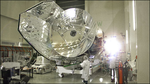 Herschel space telescope (BBC)