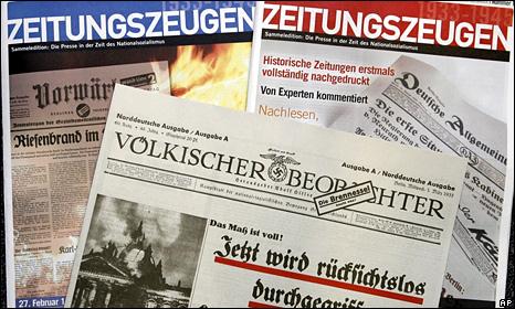 Copies of Zeitungszeugen