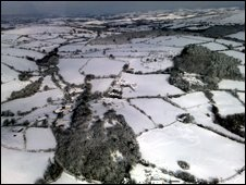 Snow in Devon