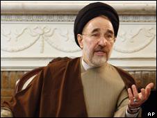 Former Iranian President Mohammad Khatami, 3/2/09