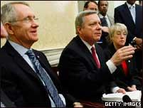 Senadores de EE.UU. en rueda de prensa