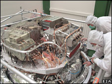 Herschel instruments (Esa)