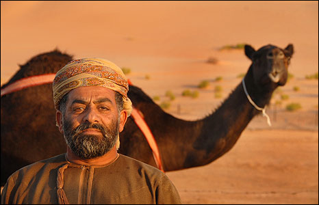 Sheikh Mohammed and prize-winning camel