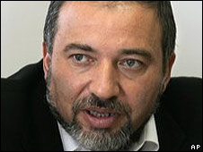 Avigdor Lieberman, leader of Yisrael Beiteinu