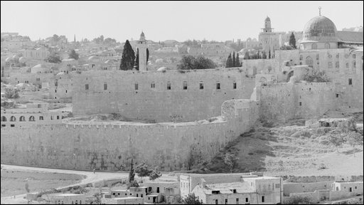 Old City of Jerusalem 1956