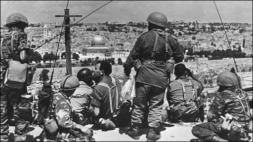 Israeli soldiers in Jerusalem 1967