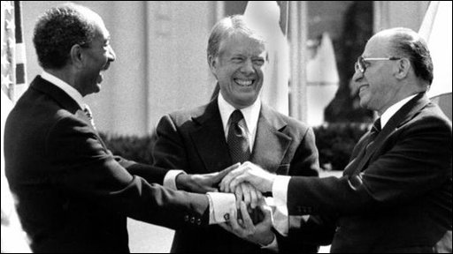 Camp David accords handshake 1978