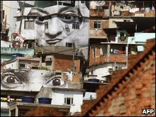 A poor neighbourhood in Sao Paulo, file image