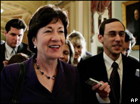 Senadora Susan Collins