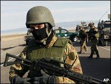 Italian soldiers in Afghanistan