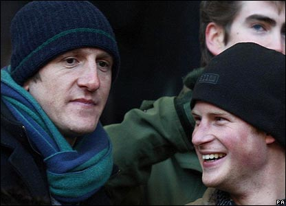 Will Greenwood chats to Prince Harry