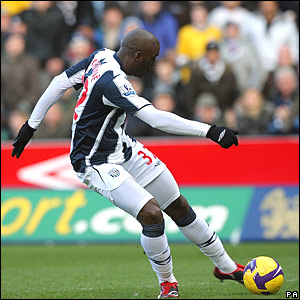 Marc-Antoine Fortune, West Bromwich Albion