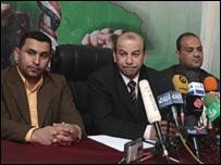 أمير الكناني خلال المؤتمر الصحفي