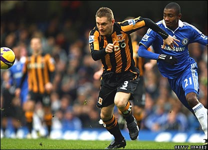 Andy Dawson, Hull City; Salomon Kalou, Chelsea