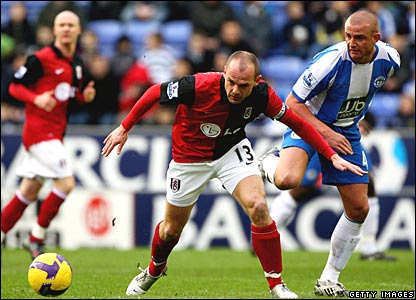 Danny Murphy, Fulham; Lee Cattermole, Wigan Athletic