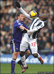 Ryan Taylor, Newcastle United; Marc-Antoine Fortune, West Bromwich Albion