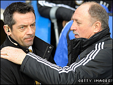 Phil Brown and Phil Scolari