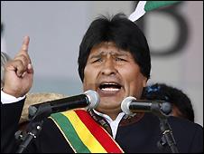 Evo Morales - 7/2/2009