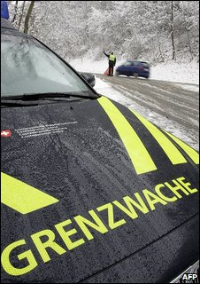 Swiss border patrol