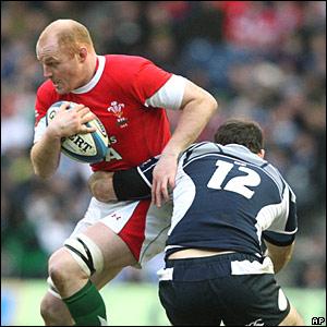 Martyn Williams, Wales; Graeme Morrison, Scotland