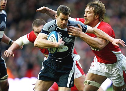 Chris Paterson, Scotland; Andy Powell, Wales