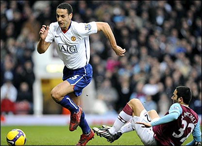 Rio Ferdinand, Manchester United; David Di Michele, West Ham United