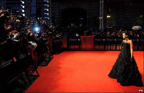 Alesha Dixon on the red carpet