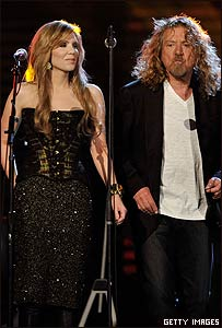 Alison Krauss y Robert Plant