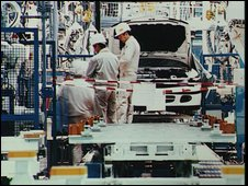 FaiJapanese car factory