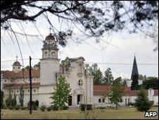 Nuestra Senora Corredentora seminary in La Reja, Argentina