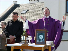 Memorial service in Arbroath