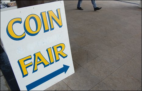 Midland Coin Fair sign