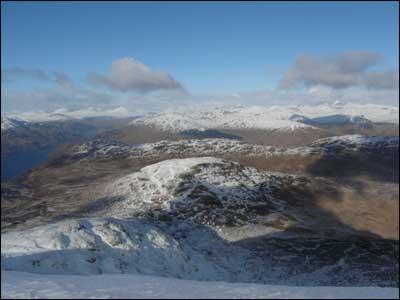 A stunning view from Ben Lomond. Taken by Matthias Hoek from Glasgow.