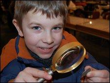 Dylan Adams at Midland Coin Fair
