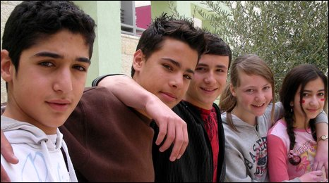 Aboud, Mustafa, Jamie, Areen