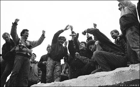 Berlin Wall December 1989