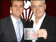 Paul Child and Warren Gatland