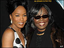 Angela Bassett and Voletta Wallace