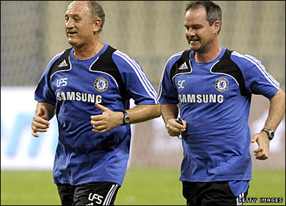 Assistant Steve Clarke (right) left to join West Ham