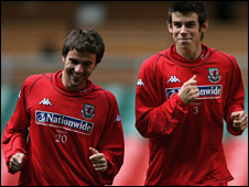 Gareth Bale (right) and Aaron Ramsey