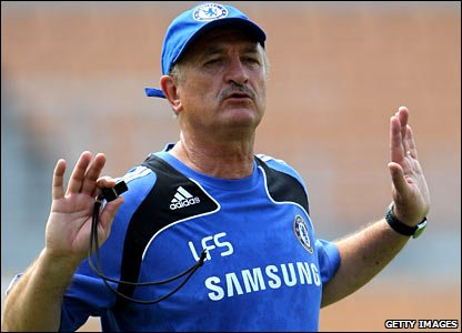 Luiz Felipe Scolari took control of the club in the summer