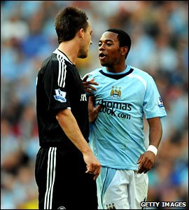Robinho opted to join Man City rather Chelsea