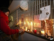 Vigil at La Quiete clinic in Udine