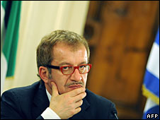 Italian Interior Minister Roberto Maroni, January 2009