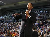 Barack Obama en Elkhart, Indiana