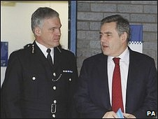 Michael Todd and Gordon Brown