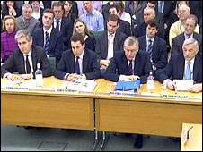 Bankers facing MPs